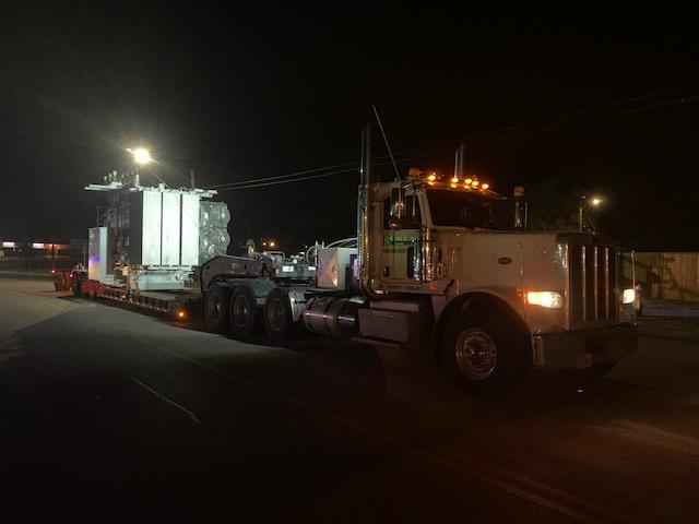 Heavy load trucking in Houston, Texas